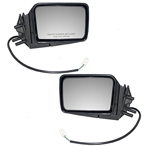 Driver and Passenger Power Side View Mirrors Replacement for Nissan SUV Pickup Truck 9630207G60 9630107G00 AutoAndArt