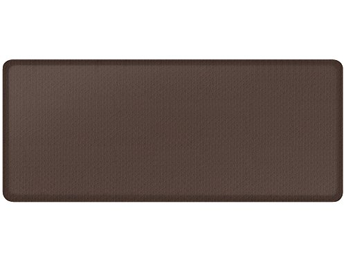 GelPro Natural Weave Kitchen Mat, 20 by 48-Inch, Espresso by GelPro