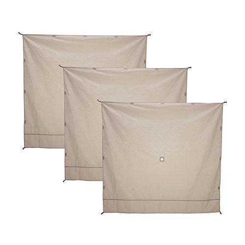 Gazelle Tents 21077 Gazelle 3-Pack Wind Panel, Tan