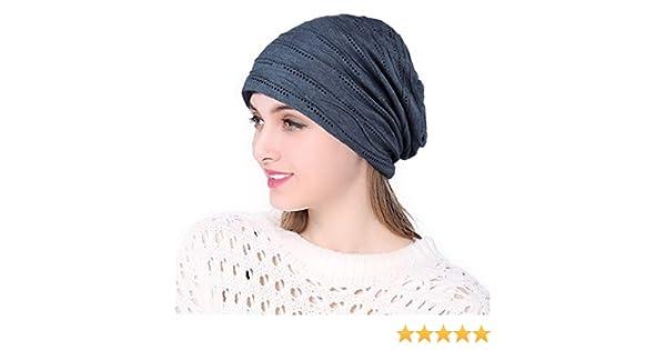 CofeeMO Soft Stretchy Womens Casual Turban Beret Hats Fashion Head Wrap Sun Caps