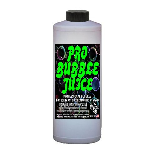 Froggys Fog - Pro Bubble Juice - Professional Bubble Fluid for All Bubble Machines and Bubblers - 1 (Fog Machines Work)