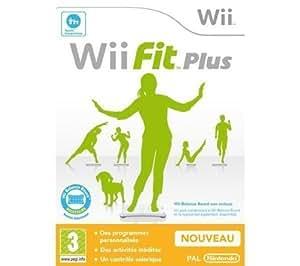 Wii Fit Plus (jeu seul) [Importación francesa]
