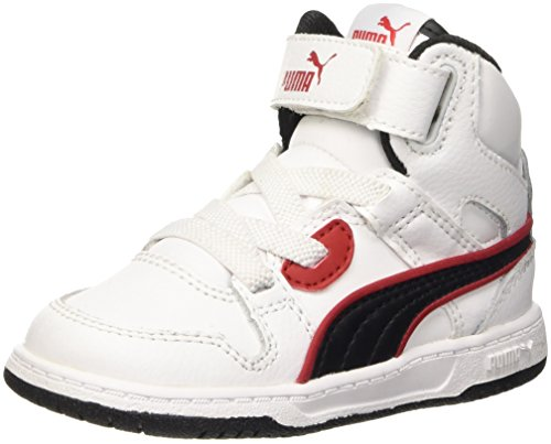 Puma , Jungen Sneaker weiß / schwarz