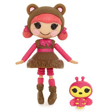 Mini Lalaloopsy Doll Teddy Honey Pots