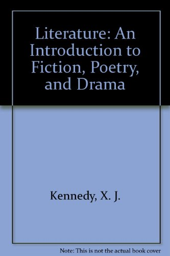 Literature: An Introduction to Fiction, Poetry, and Drama and Craft of Literature 1.1 CD-ROM, Eighth Edition