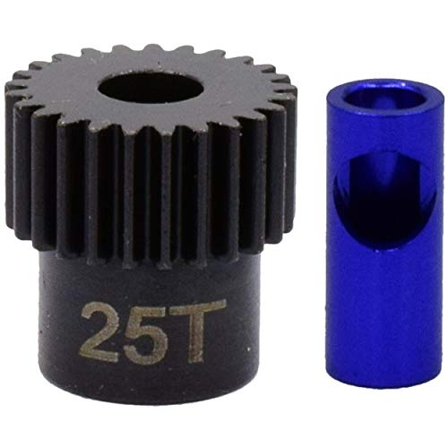 Hot Racing NSG825 25t Steel 48p Pinion Gear 5mm or 1/8