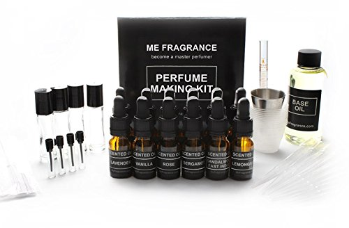 Basic Essential Oil Perfume Making Kit by Me Fragrance - ...