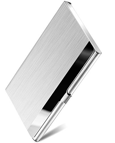 MaxGear Metal Business Card Holder for Men & Women