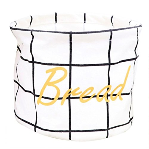 Goddessvan Storage Bins, Foldable Storage Baskets Closet Toy Box Toy Organizers Laundry Baskets Fabric Basket (White)