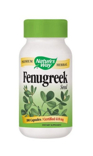Nature's Way Fenugreek Seed 100 - Seed Fenugreek 100 Capsules