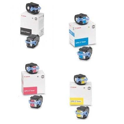 Canon LBP-5970 Toner Cartridges Set (OEM) Black. Cyan. Ma...