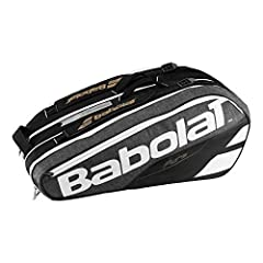 The Babolat Pure 9 Pack Tennis Bag is designed to meet all the needs of the expert player. There`s a large capacity and features that include racket pockets including an insulated one for carrying up to 9 rackets. New bigger openings for bett...