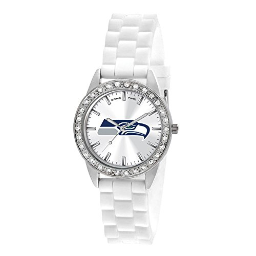 Gifts Watches Ladies NFL Seattle Seahawks Frost Watch ()