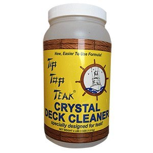 Sudbury TC2001 Tip Top Teak Crystal Deck Cleaner-1/2 Gallon, 64. Fluid_Ounces