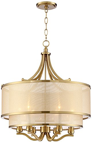 Antique Gold Pendant Light in US - 6