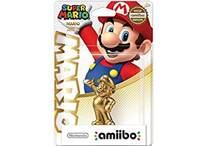 2bb13c7cc5 Amazon.com  Mario - Gold amiibo (Super Mario Bros Series)  Video Games