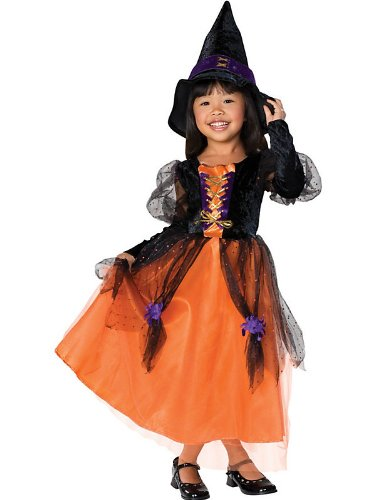 [Rubies Pretty Witch Kids Costume As Shown - Small] (Toddler Renaissance Costumes)