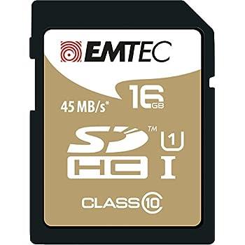 EMTEC 16 GB Class 10 Jumbo Extra SDHC Memory Card