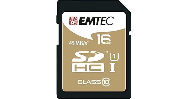 Amazon.com: Emtec 8 GB tarjeta de memoria SDHC de clase 10 ...