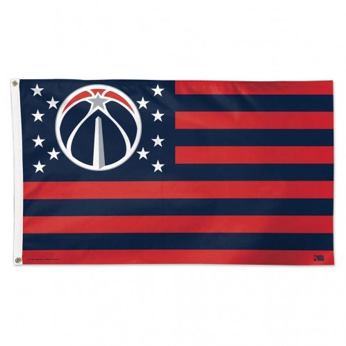 Washington Wizards NBA American Flag 3 x 5 Foot by WinCraft