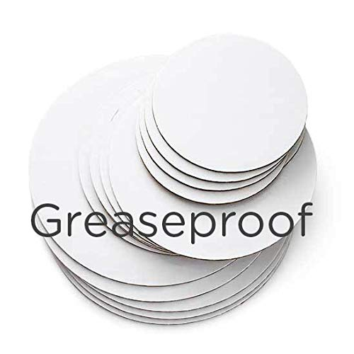 - Cakegirls Cake Board Circles Grease Proof- 6