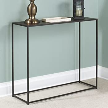 This Item Tag Urban 12 Inch Wide By 34 Inch Length By 29 1/2 Inch High  Console Table, Coco Brown