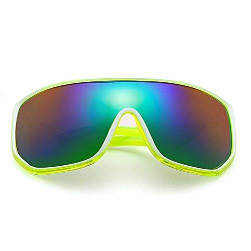 KTYX Color A Gran Marco Gafas Sol Prueba Viento Gafas Gafas De para Hombres C4 De Coloridas Gafas Deportivas Sol para Montar de De C5 qrqE1cwF