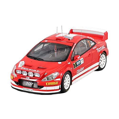 - NY YN Modle Car 1:18 Peugeot 307 WRC 2005#7 Simulation Car Static Model Collection Ornaments Children's Toy Car Vehicle Playsets ( Color : Red )