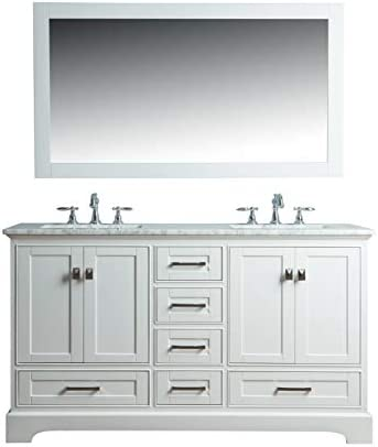 Stufurhome Newport Double Sink Bathroom Vanity