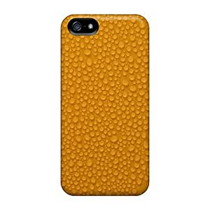 Excellent Iphone 5/5s Case Tpu Cover Back Skin Protector Water Droplets