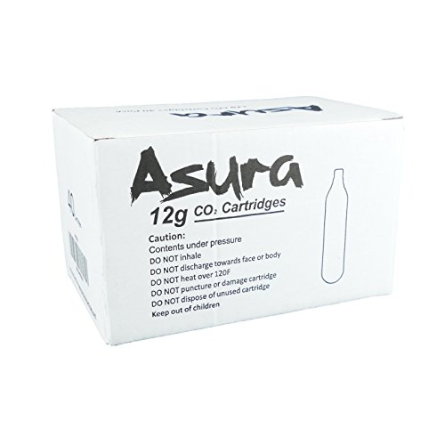 Asura 12g CO2 Cartridges - 40PK