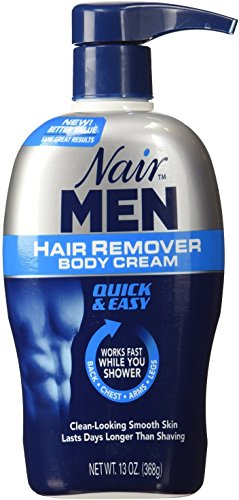 Nair For Men Hair Removal Body Cream 13 oz (Pack of 12)