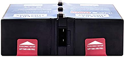 Compatible Replacement for APC BR1500G-AR by UPSBatteryCenter RBC124 Battery Pack