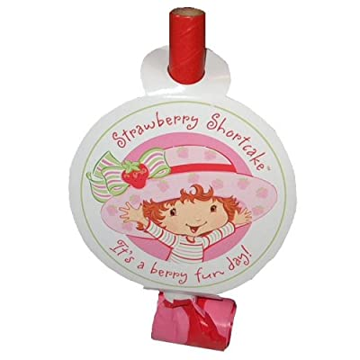 Strawberry Shortcake Blowouts 8ct: Toys & Games