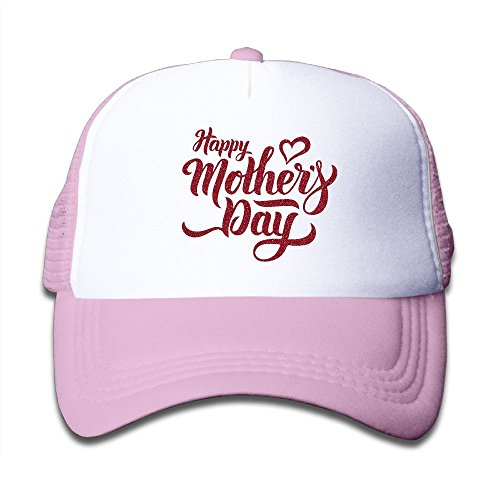 DNUPUP Kid's Happy Mother's Day Adjustable Casual Cool Baseball Cap Mesh Hat Trucker Caps supplier