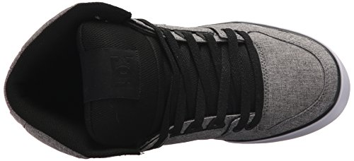 DC Heather SPARTAN Grey ADYS400004 HI BKB Herren SE Black WC TX Sneaker rRv71rq