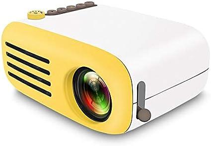 Mini proyector Yg200 Home proyector portátil portátil Compatible ...