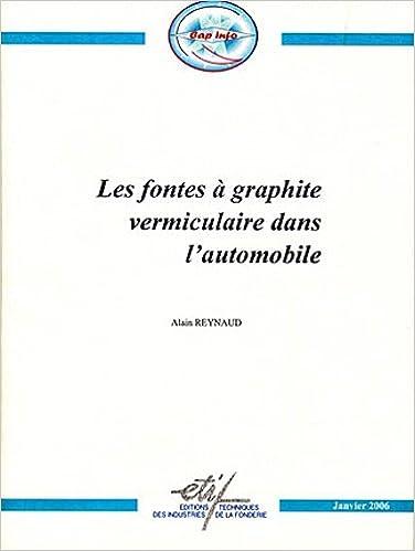 Livres gratuits Les fontes à graphite vermiculaire dans l'automobile pdf, epub