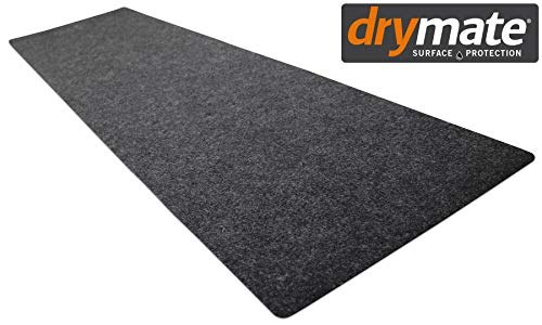 Drymate Gun Cleaning Pad (16 Inches x 59 Inches), Premium Gun Cleaning Mat - Absorbent/Waterproof - Protects Surfaces, Contains Liquids - America's #1 Selling Gun Pad - Made in The USA (Charcoal) (Gun Cleaning Mat)