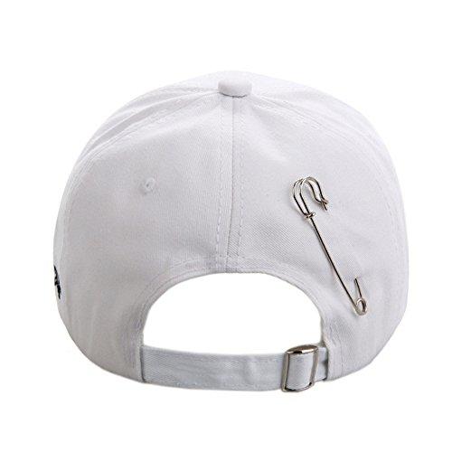 d8a90d9cefa Kokkn K-Pop BTS Baseball Cap Bangtan Boys Iron Ring Snapback Hat Cotton Adjustable  Hip