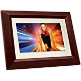 Philips SPF3402S/G7 10.1-Inch Digital Picture Frames (Brown/Black with White Matte)