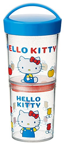 Skater tumbler lunch box two-stage 480ml Hello Kitty 70s Sanrio LWTB1C (1970s Lunch Box)