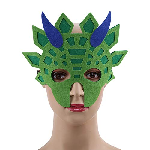 Party Masks - Dinosaur Mask Face Boys And Girls Masque Dino Themed Birthday Dragon Party Halloween Costume Photo - Wear Couples Male Party Masks Bulk Headbands Glasses Kids Lace Women -