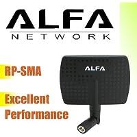 ALFA 802.11g/n WLAN antenne 7dBi 2.4GHz RP-SMA Indoor Antenne Zimmer antennes