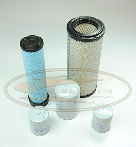 Complete Filter Service Kit for Bobcat 863, 864, 873, T200 Skid Steers by All Skidsteers