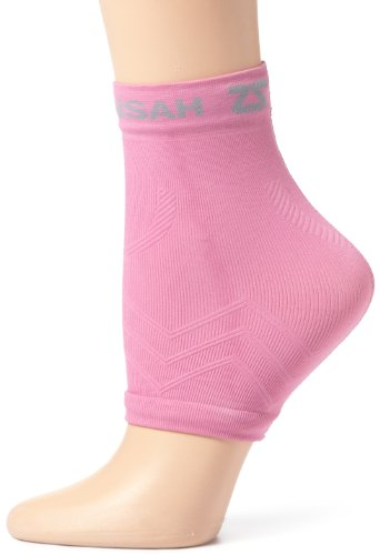 Zensah Unisex Adult Ankle Support, Rose, Small / Medium