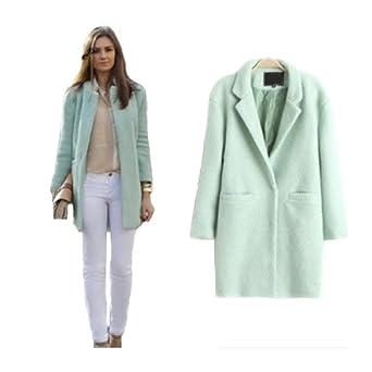 Manteau femme couleur vert