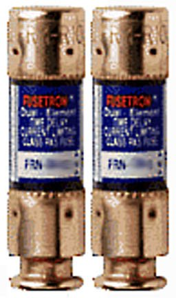 Bussman BP/FRN-R-60 60 Amp 250 Volt Time Delay Cartridge Fuses 2 Count