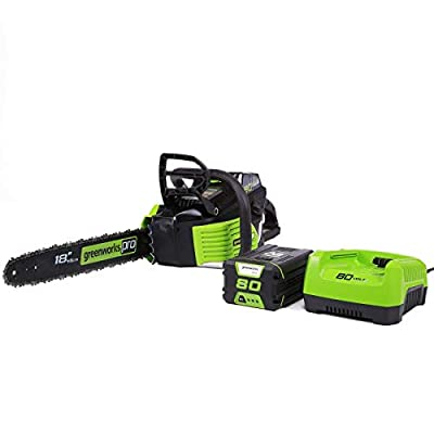 Morocca 18-Inch 80V Chainsaw, Battery and Charger Included 2000002