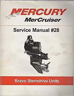 2004 mercury mercruiser #28 supplement bravo sterndrive service.